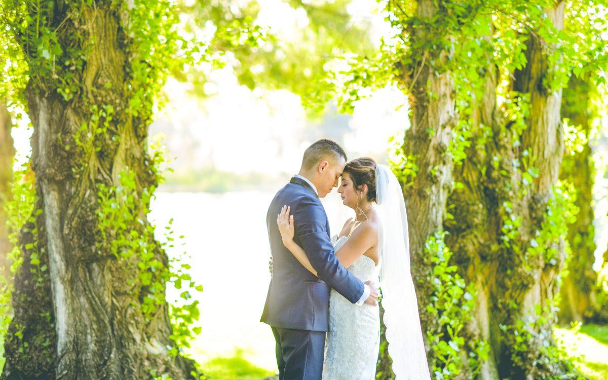 Daniel + Monica Wolf Lakes Wedding